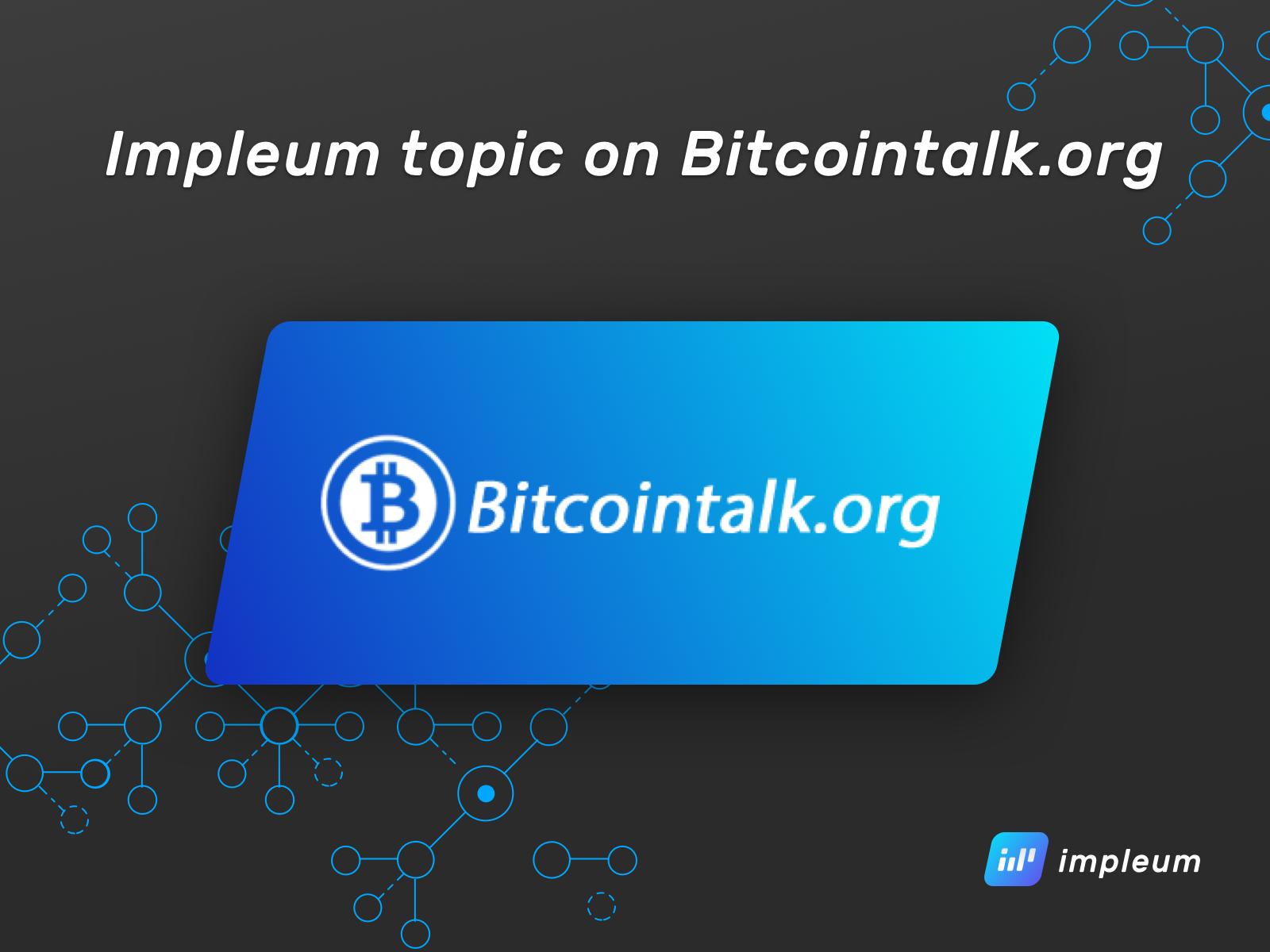 bitcointalk intelligente commerciale bitcointalk